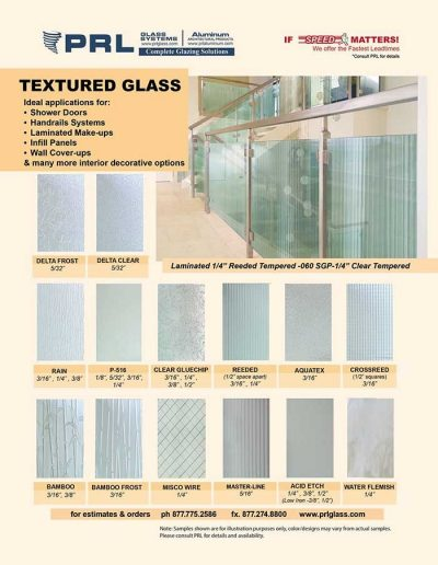 PRL Textured Glass