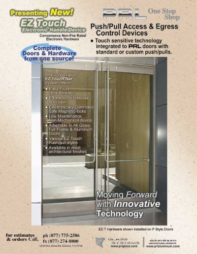 Push/Pull EZ Access Egress Control Devices