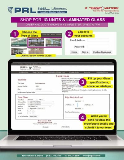 Quote and Order Laminated Glass Online