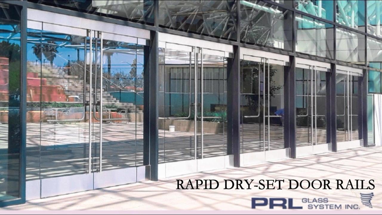 Rapid Dry Set Door Rails Video