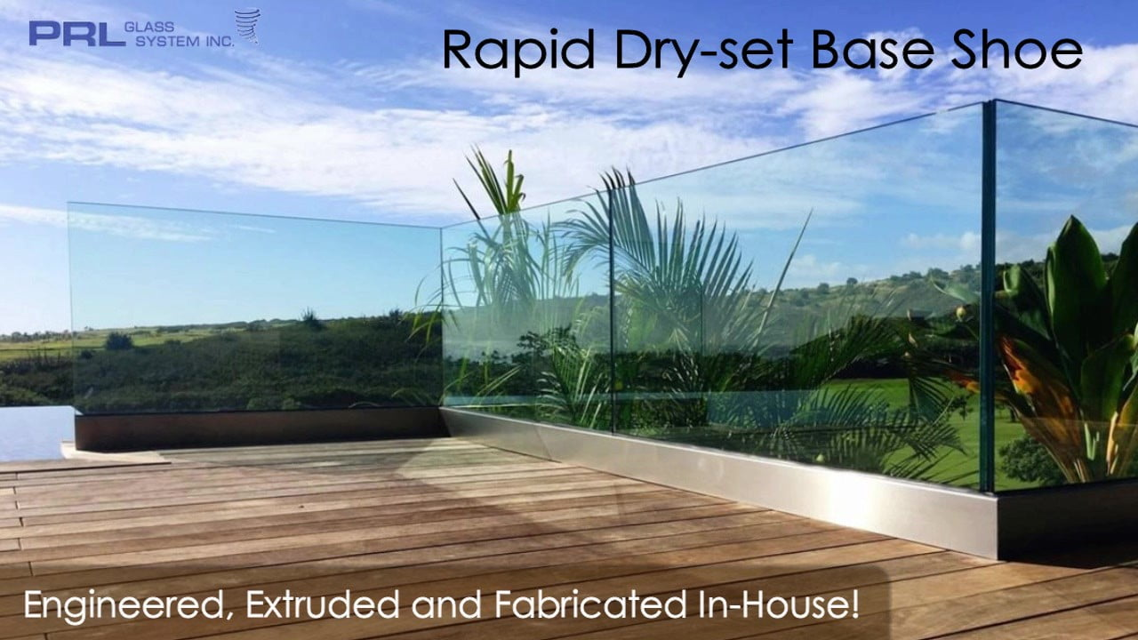 Rapid Dryset Handrail Base Shoe Video