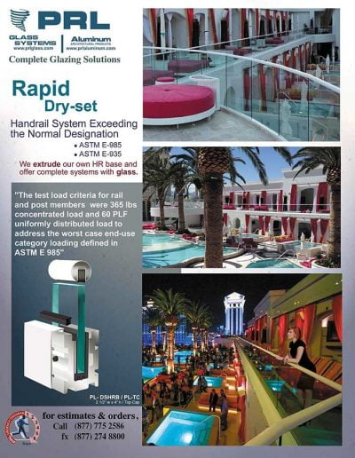Raipd Handrail Systems Test Report