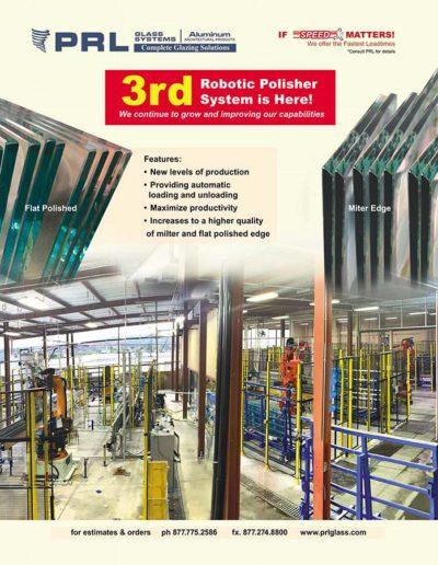 robot glass polisher systems