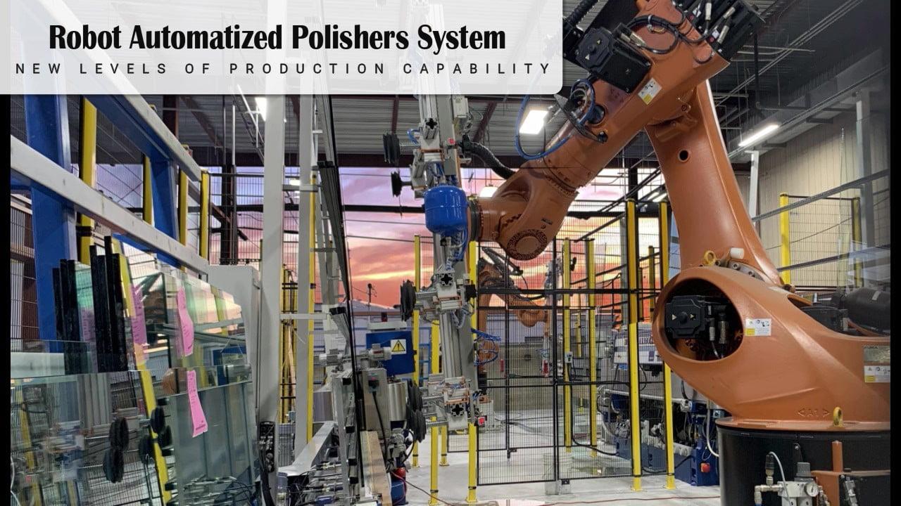 Robot Glass Polisher Video
