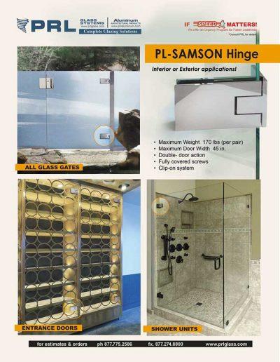 Samson Heavy Duty Hinge