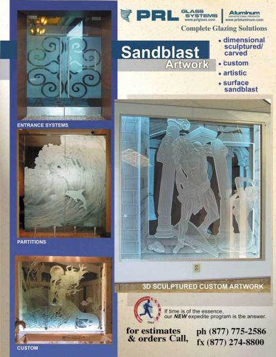 Sandblast Glass Creations