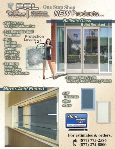 Security Glass Bullet Resistant Laminates Ballistic Glass