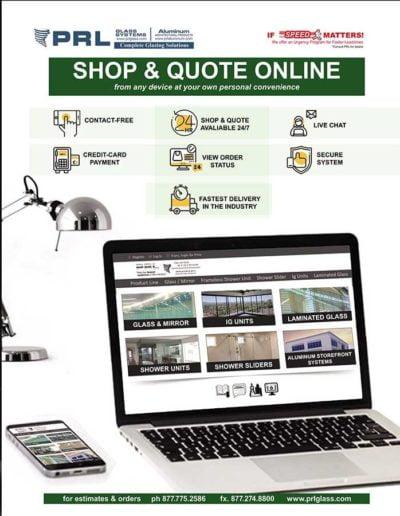 shop glass and aluminum online