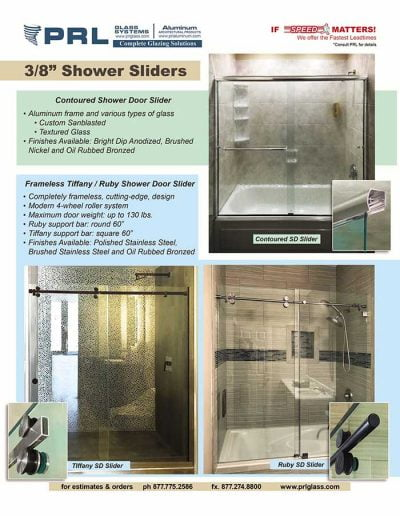 Shower Doors Slider