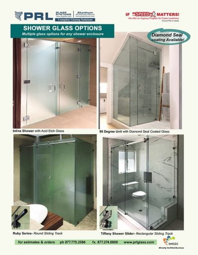 Shower Glass Types