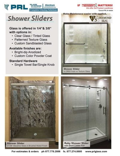 Shower Sliders