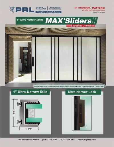 PRL's MAX'Sliders - Sliding Doors