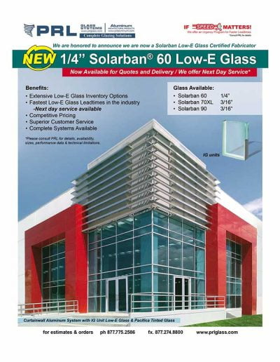 Solarban® 60 Low-E Glass