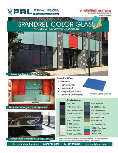 PRL&#39s Spandrel Glass