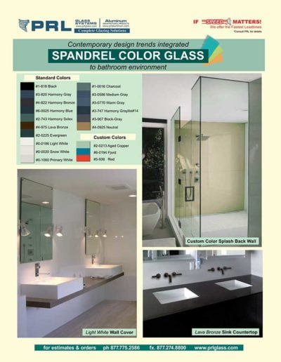 spandrel glass bathrooms