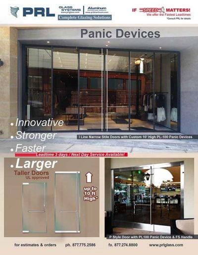 Tall Door Panic Device