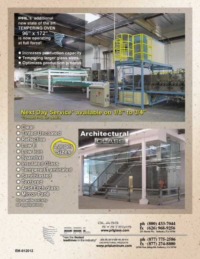 Tempered Glass Fabricator