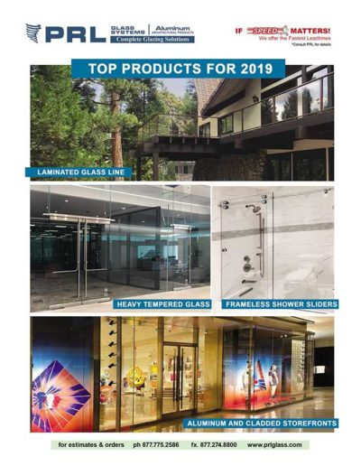 top four performing products 2019